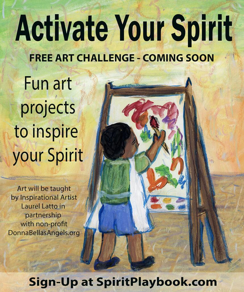 Activate Your Spirit Free Art Challenge